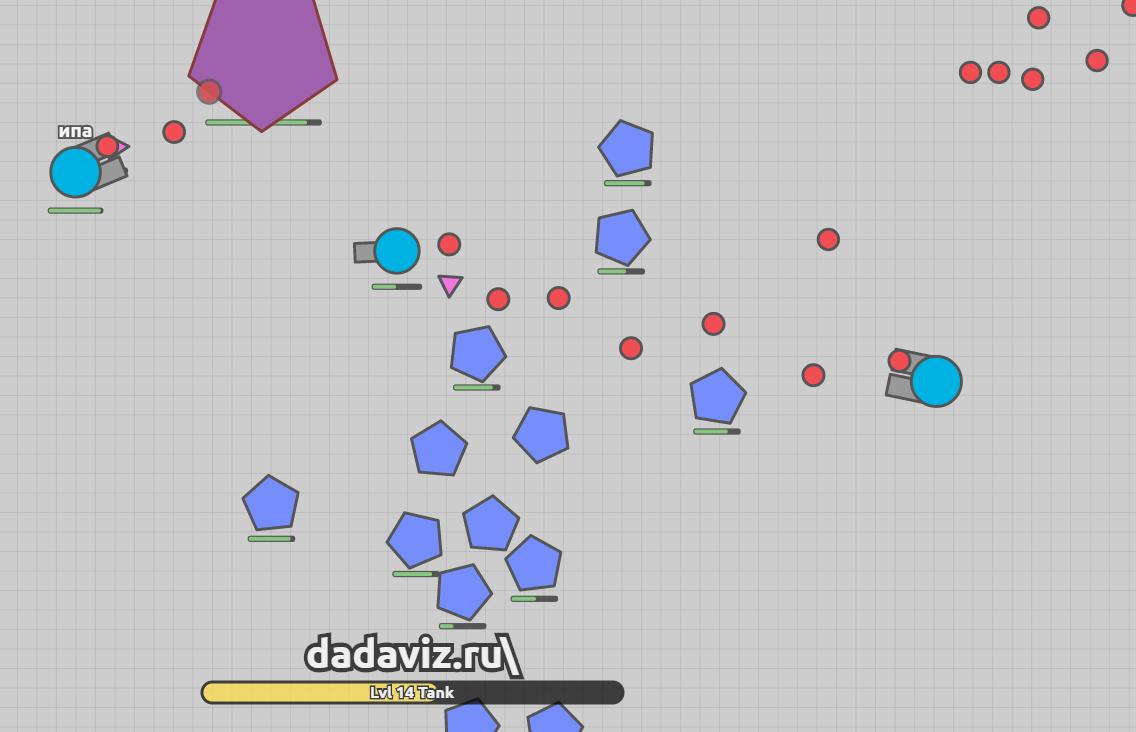 Как играть в Diep.io?