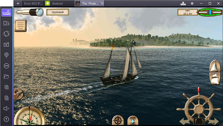 the pirate caribbean hunt на ПК
