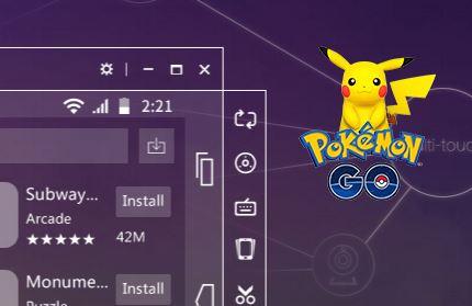 Pokemon GO через Nox App Player — инструкция