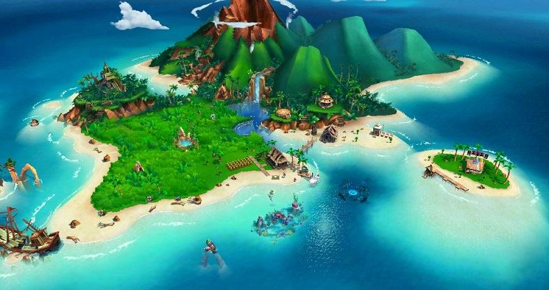 FarmVille Tropic Escape на компьютере