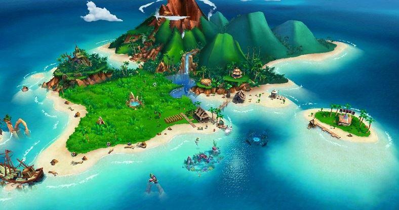 FarmVille Tropic Escape на компьютере