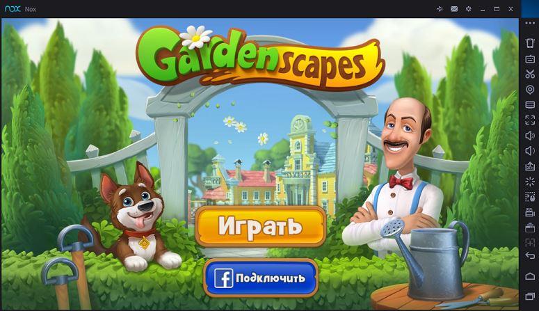 Gardenscapes New Acres на ПК онлайн