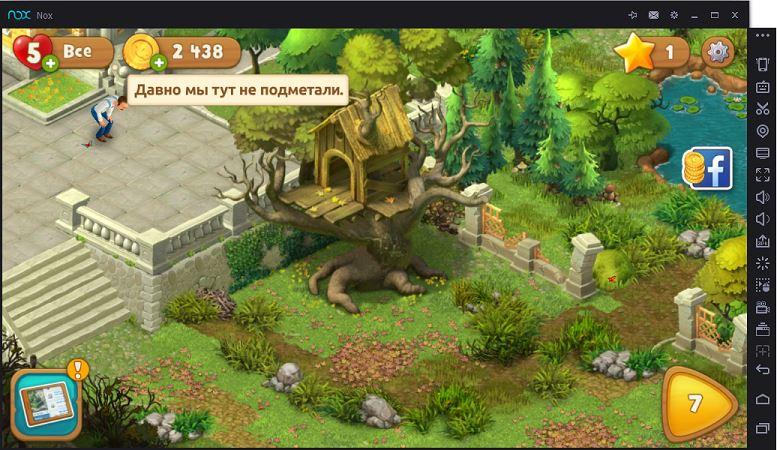 Gardenscapes New Acres на ПК