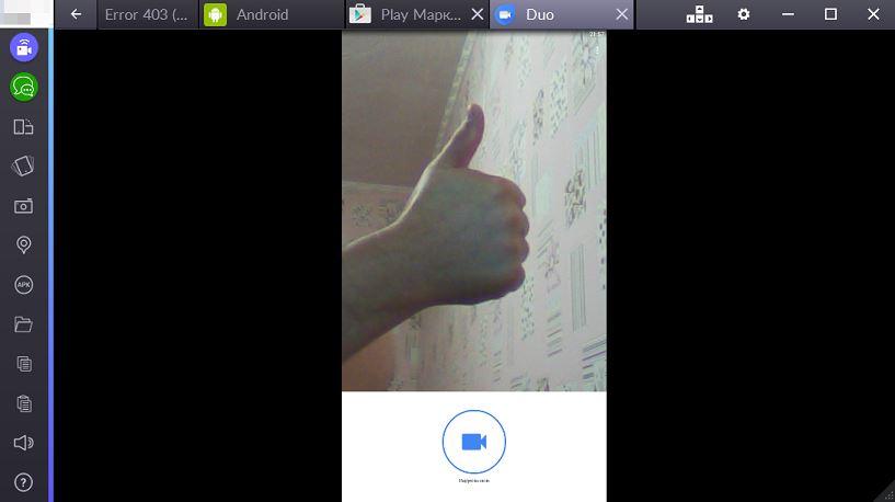 Установка Google Duo на PC фото