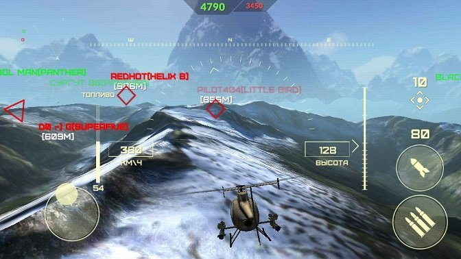 WORLD OF GUNSHIPS на PC онлайн