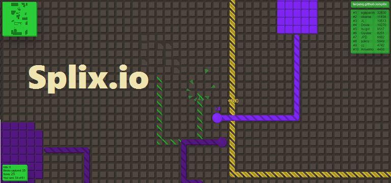 Что такое Splix.io и как играть?
