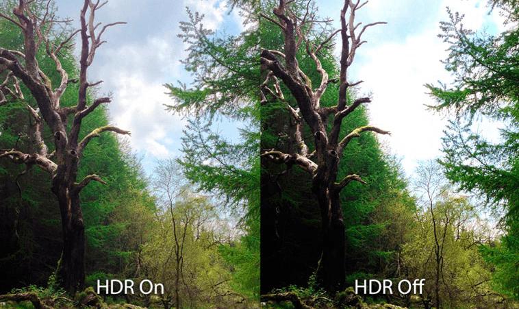 Фотография HDR и обычная