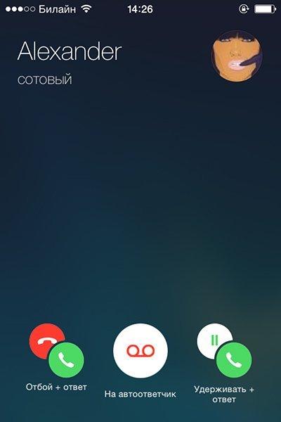 Новый звонок