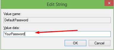 Редактор реестра: редактирование нового файла