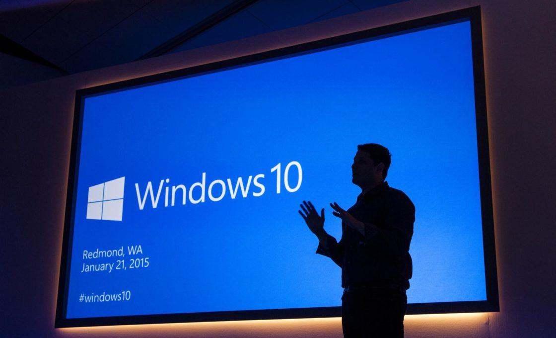 Предрелизная презентация Windows 10