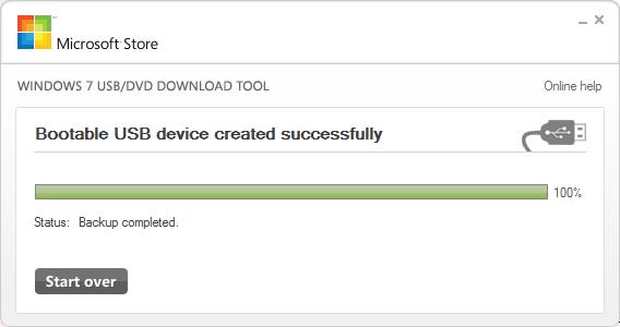 Флешка с дистрибутивом Windows