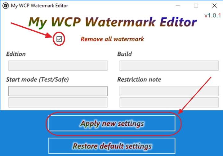 Программа WCP Watermark Editor