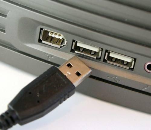 Подключение USB-клавиатуры