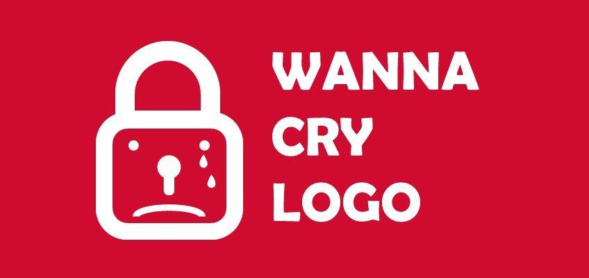 Логотип вируса WannaCry