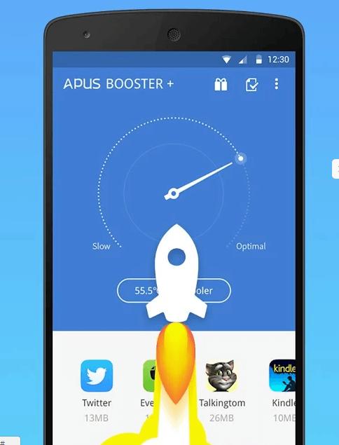 Интерфейс APUS BOOSTER +