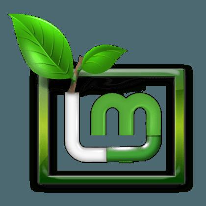 Логотип Mint Linux