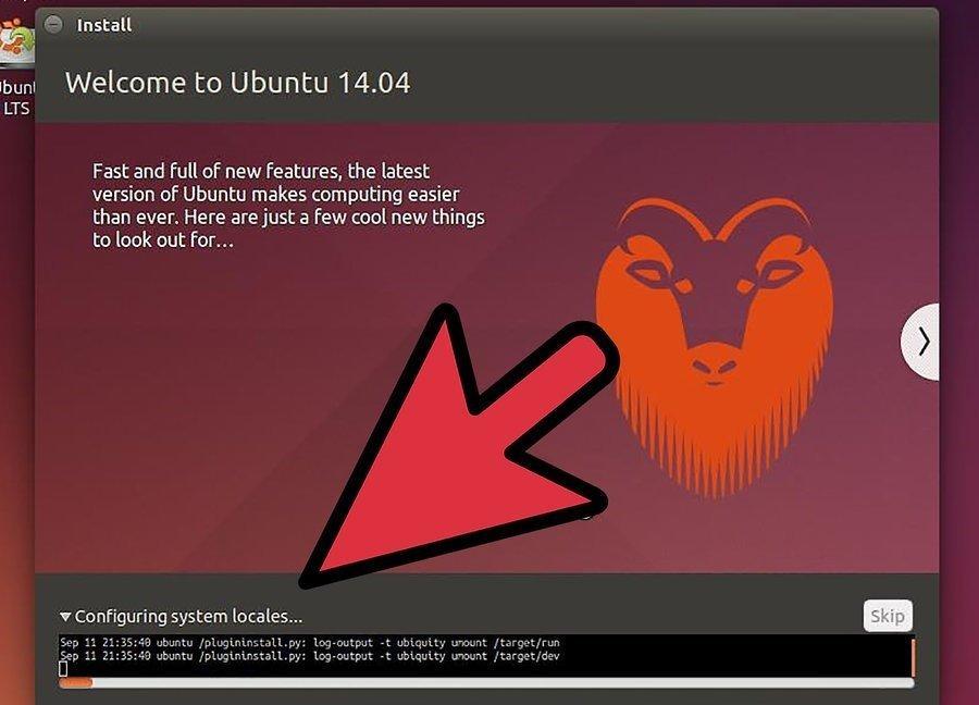 Процесс установки Ubuntu на виртуальную машину
