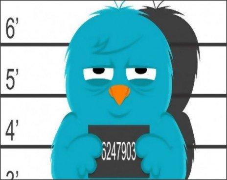 Блокировка аккаунта в Twitter
