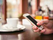 кофе и iphone