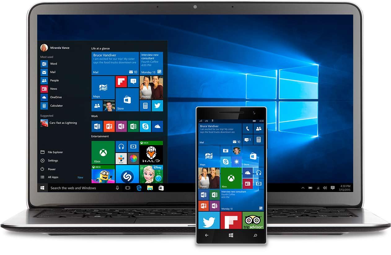 Исправление ошибок активации Windows 10