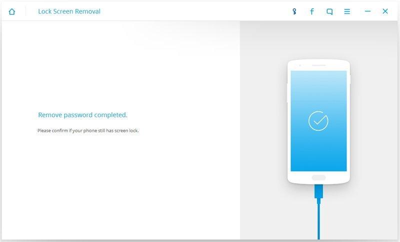 Успешная работа Lock Screen Removal