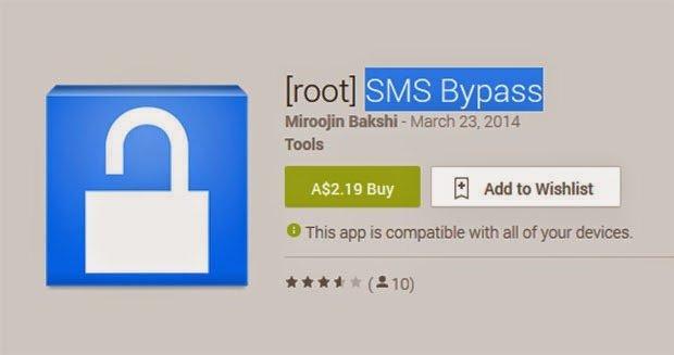 Sms Bypass в магазине