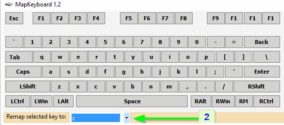 Выбор значения в MapKeyboard