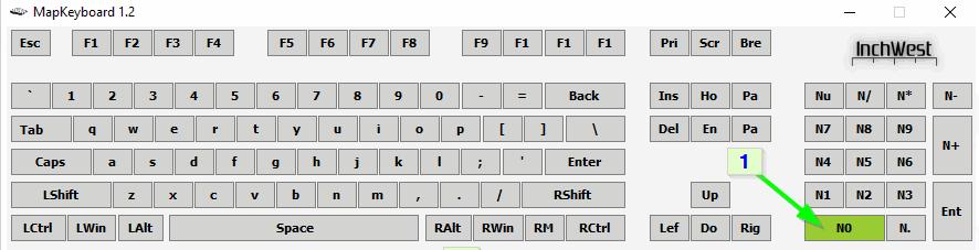 Выбор кнопки в MapKeyboard