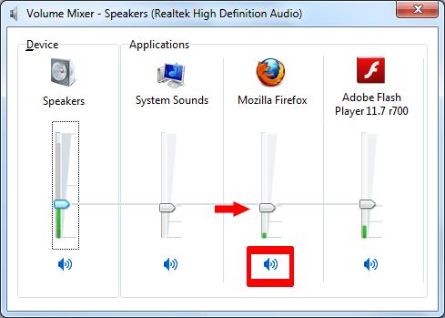 Микшер громкости Windows