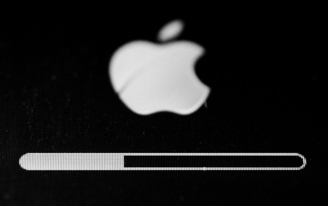 Иконка загрузки восстановления IPhone