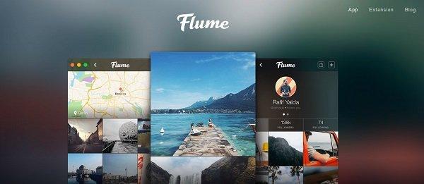 Приложение flume