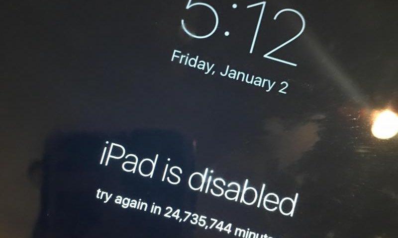 В США пользователь пожаловался на заблокированный на 47 лет iPad