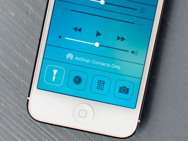 Как включитьфонарик на iPhone, iPad и iPod touch в два нажатия
