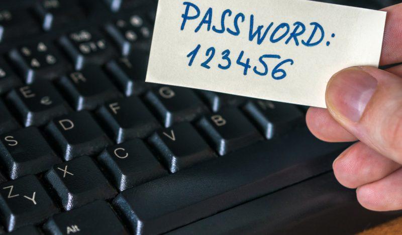 Эксперты составили рейтинг самых ненадёжных паролей года