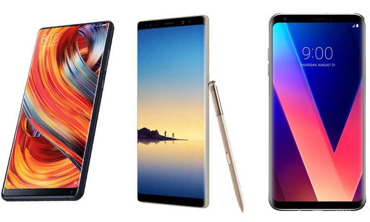 Смартфоны Xiaomi Mi Mix 2