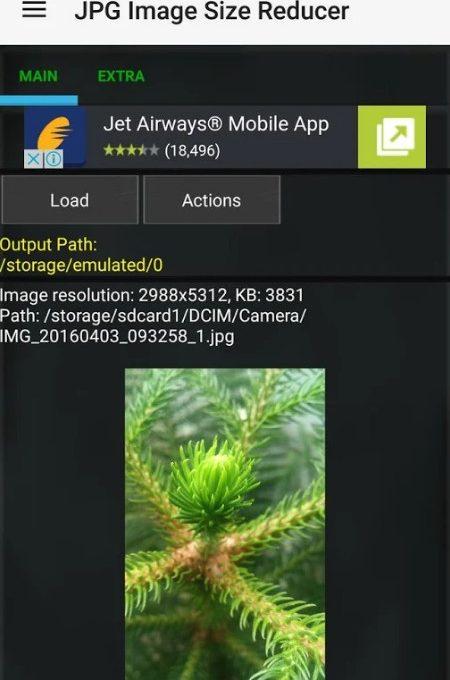 Приложение JPG Image Size Reducer