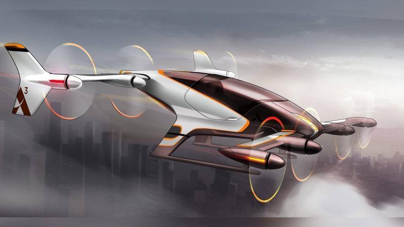 В Дубае появится аэротакси без водителя