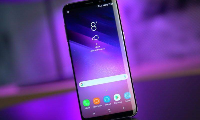 Samsung публикует видео о Galaxy S9