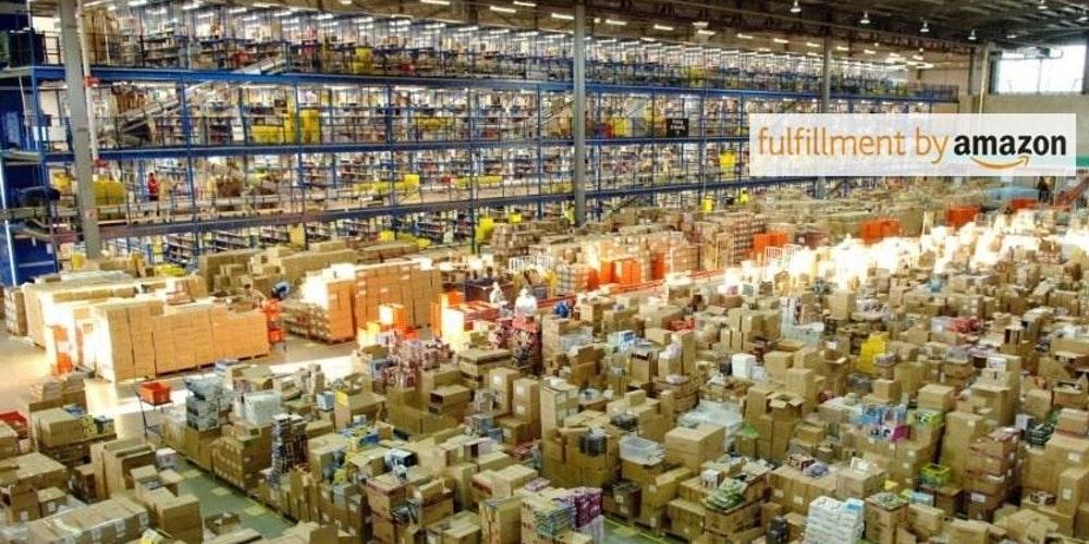 Один из сортировочных центров Amazon