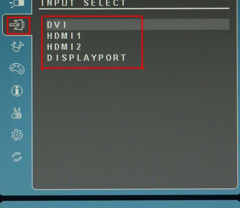 Заводские настройки монитора (на примере монитора одной из моделей ViewSonic)