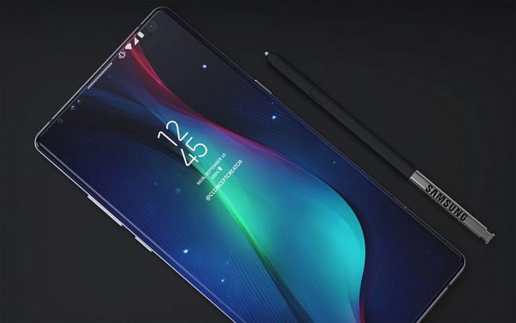 Дисплей и стилус Samsung Galaxy Note 9