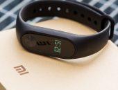 Фитнес-трекер Xiaomi-Mi-Band черного цвета
