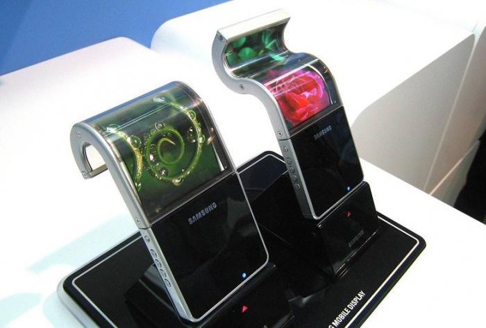 Гнущийся смартфон Samsung Galaxy X