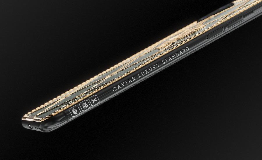 iPhone в стиле яиц Фаберже от Caviar