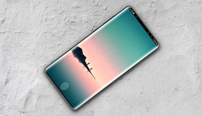 Изображение на смартфоне Samsung Galaxy Note 9