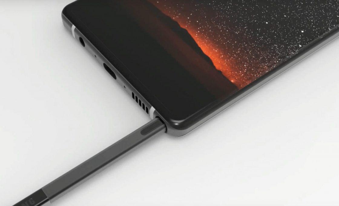 Разъемы на смартфоне Samsung Galaxy Note 9