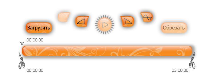 Обрезка песни с помощью сервиса MP3cut.foxcom