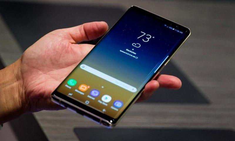 Утончённый дизайн и функциональность в новом Samsung Galaxy Note 9