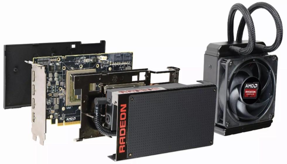 Видеокарта для майнинга AMD Radeon R9 Fury X
