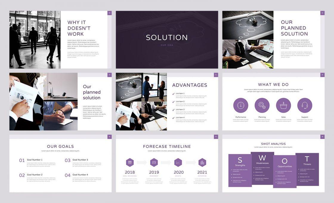 Главная страница программы для создания презентаций Deck